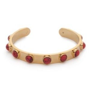 Kate Spade Tag Along Cuff Bracelet- Red